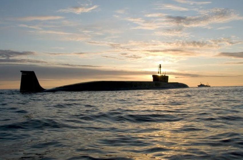 Yury Dolgoruky- Borey class strategic nuclear submarine