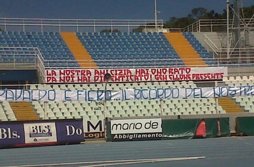 Il Saluto dei Rangers a Domenico