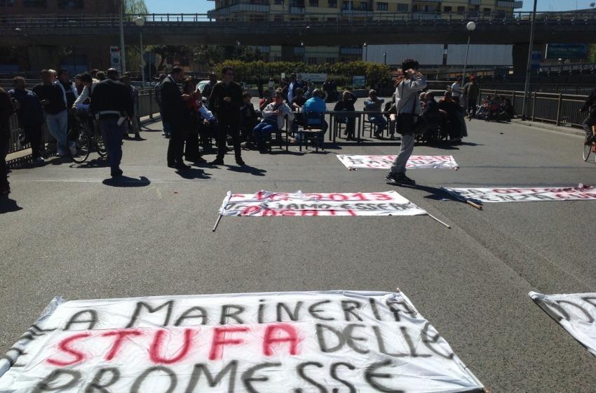 striscioni protesta