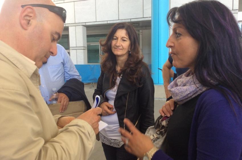 Tiziana Marone, moglie dell'imprenditore che si è dato fuoco davanti all'Agenzia delle Entrate