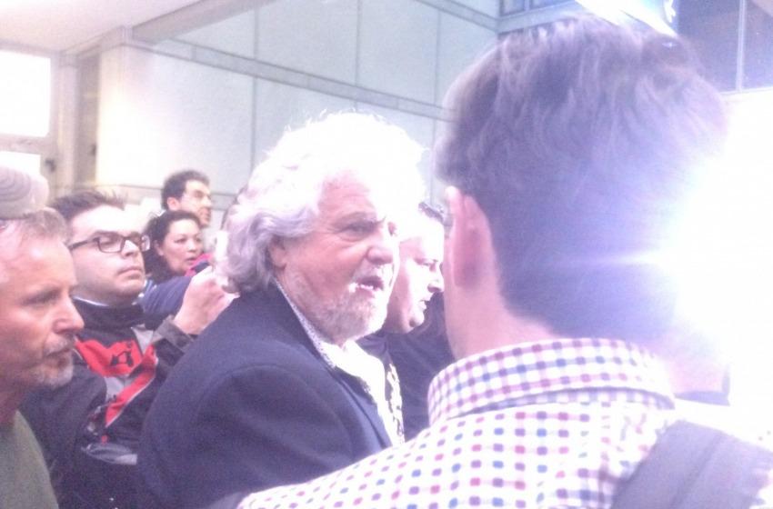 Grillo in tribunale a Pescara