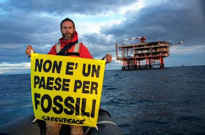 No al campo petrolifero