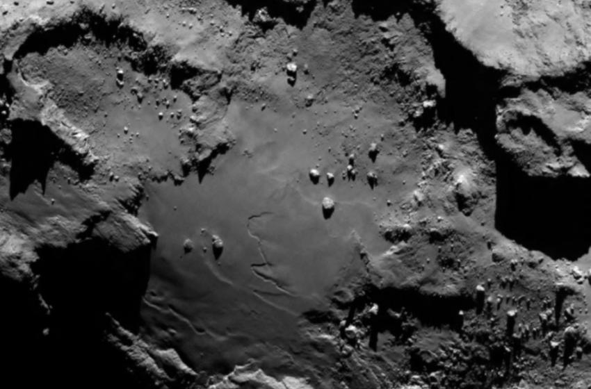 la Cometa Churyumov-Gerasimenko
