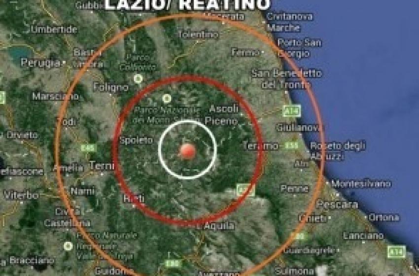 Scossa di terremoto nel cuore della notte a L'Aquila
