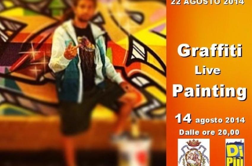 """A Chieti """"Graffiti Live Painting"""""""