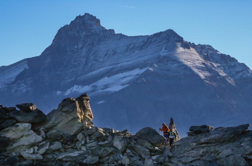 Il teatino Carusi al Tor des Geants, l'avventura estrema tra le Alpo