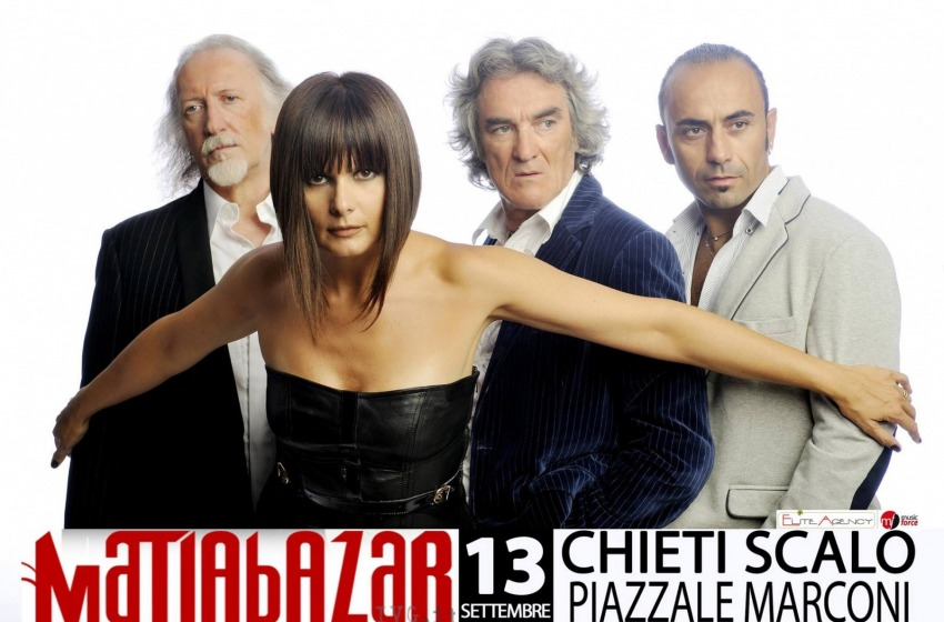 I Matia Bazar in concerto a Chieti Scalo sabato 13 settembre