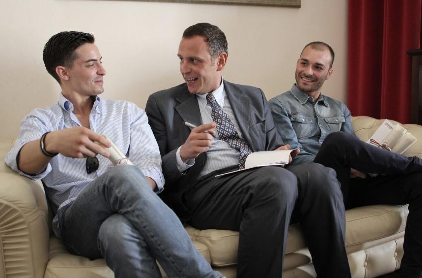 """""""Zagat"""" Alessandrini incontra e omaggia gli """"eroi"""" borghesi"""