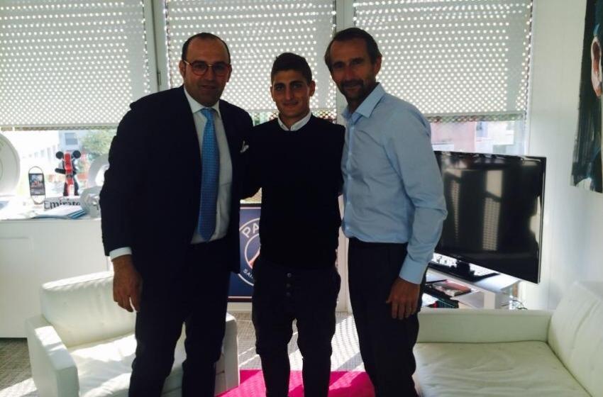 """Marco Verratti e il Paris Saint Germain si dicono """"Oui"""""""