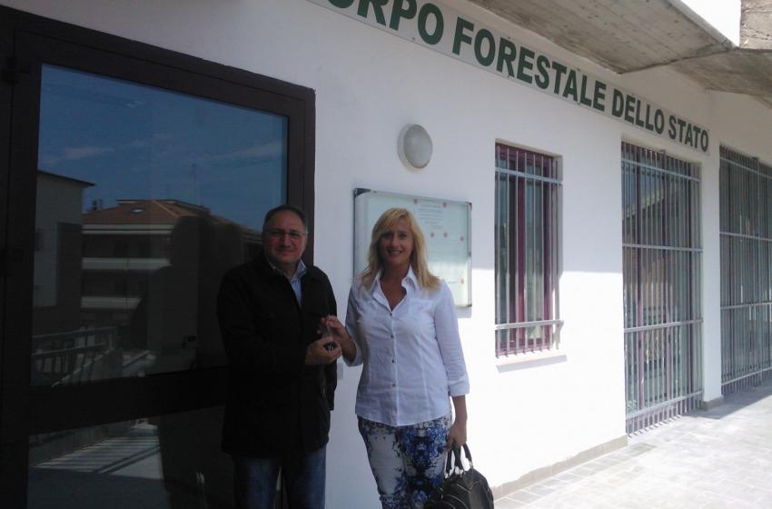 Trasferimento della Forestale da Roseto ad Alba Adriatica