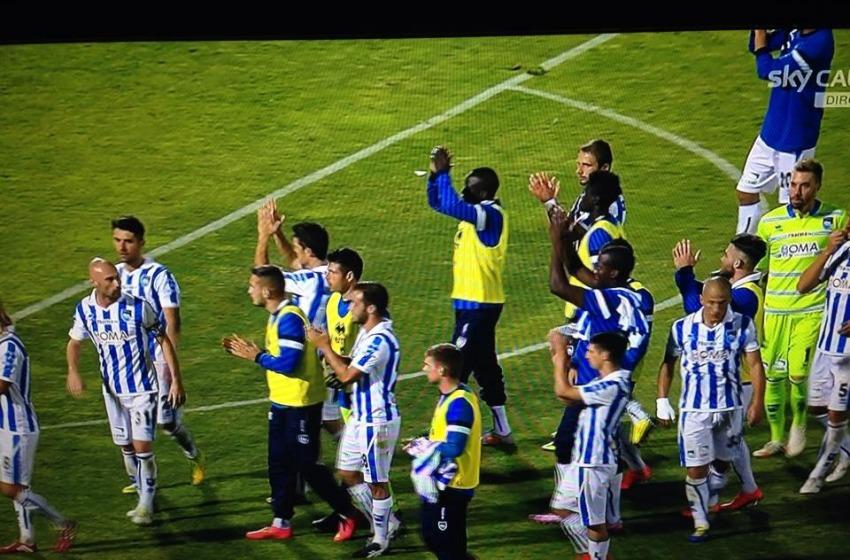 All'Adriatico finisce 1 a 1: Pescara penultimo in classifica