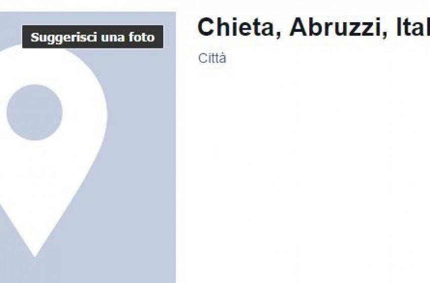 """La battaglia di Chieti per correggere """"ChietA"""" su facebook"""