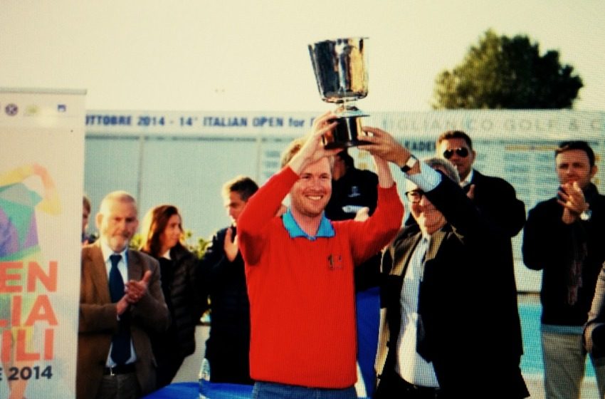 Golf: l'Open va al francese Cauneau, campionato nazionale disabili a Rocchetti