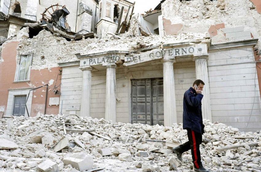 L'Aquila, rimozione dei materiali abbandonati in Case-Map-Musp