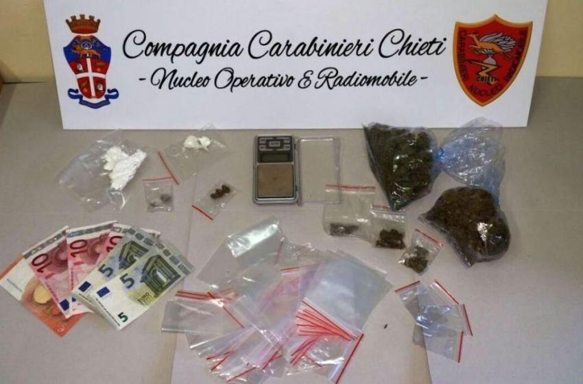 Marijuana e cocaina: in manette ancora uno studente universitario