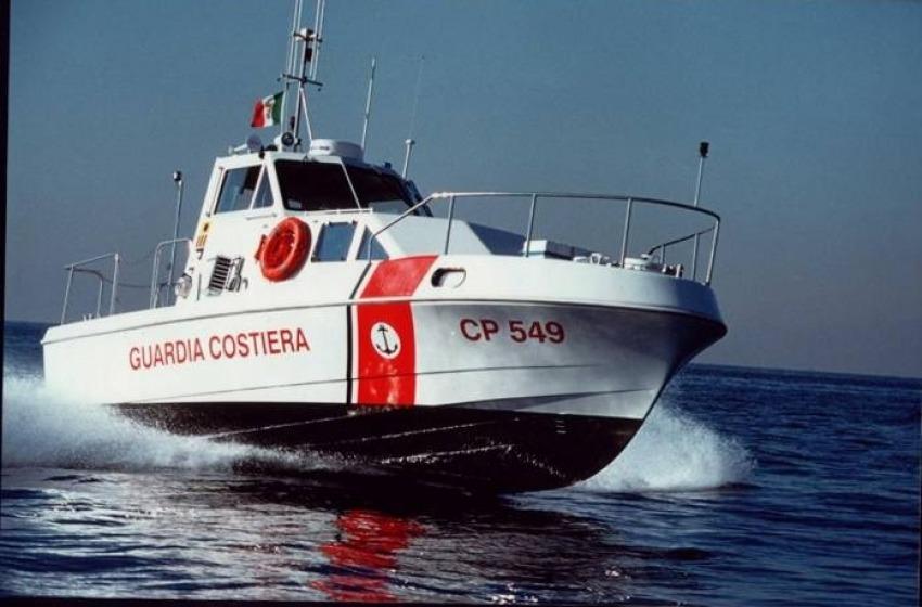 Due diportisti salvati al largo di Giulianova dalla Guardia Costiera