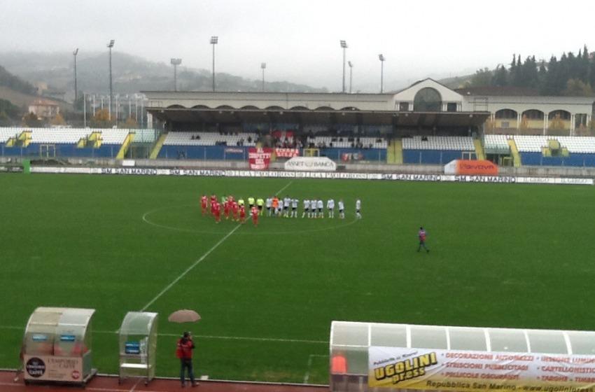 Il Teramo torna alla vittoria battendo in casa Sam Marino 1-2