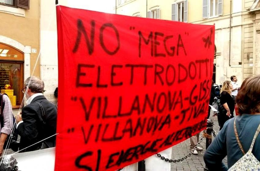 "Elettrodotto Villanova-Gissi: Terna, ""Attività legittime"""