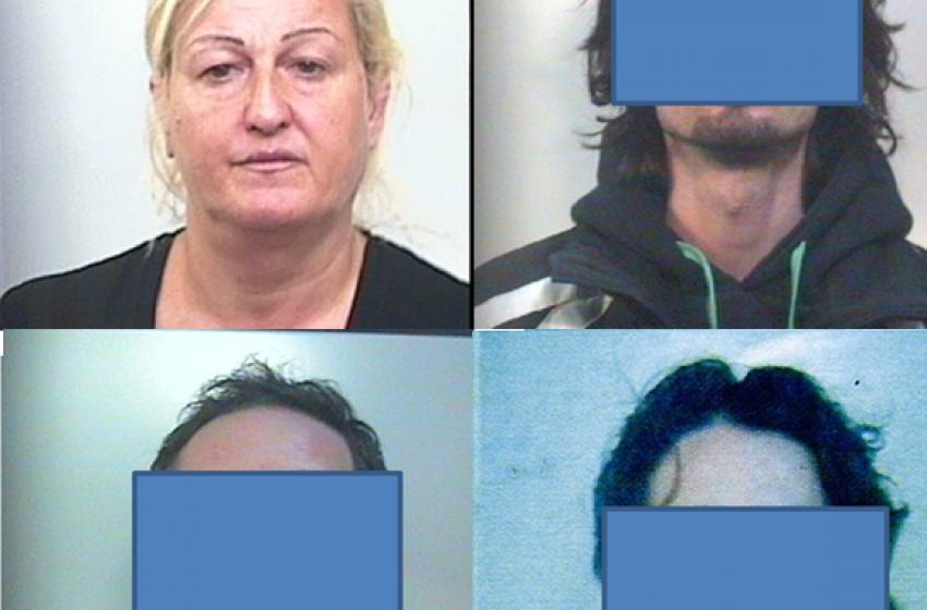 "Spacciavano ""vernice bianca"" e ""tinta nera"": quattro arresti"