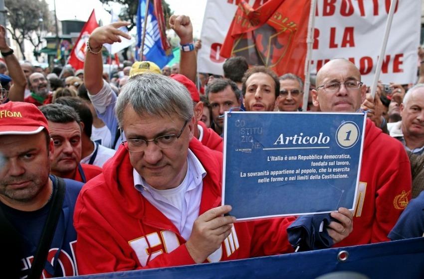 Il leader dei lavoratori Maurizio Landini domani a Pescara