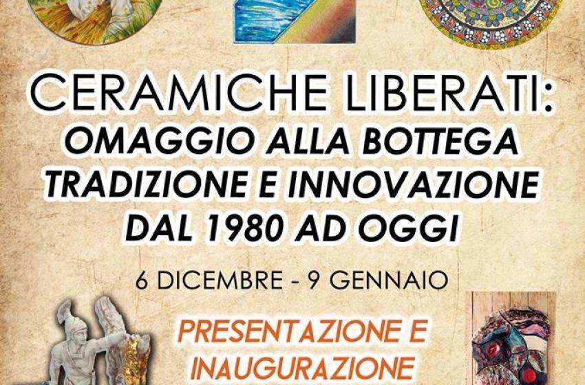 """""""Ceramiche Liberati. Omaggio alla Bottega"""" in mostra a Chieti"""