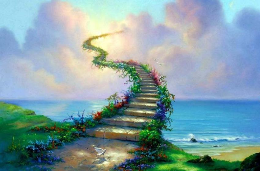 Una scala per il paradiso