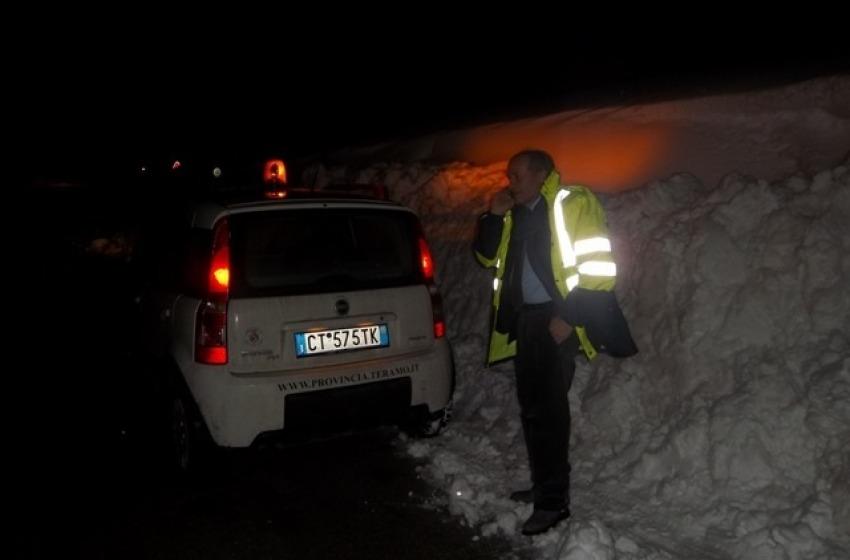 Neve e strade, la Regione Abruzzo affianca i Prefetti