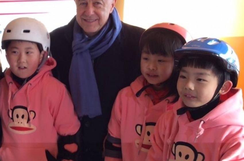 Pattinaggio, l'abruzzese Sabatino Aracu vola in Cina