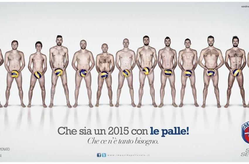 """2015: l'augurio """"con le palle"""" della Impavida Ortona"""