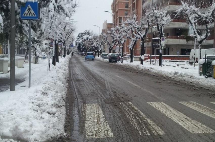 Neve e gelo in tutta la regione, 50 centimetri a Lanciano