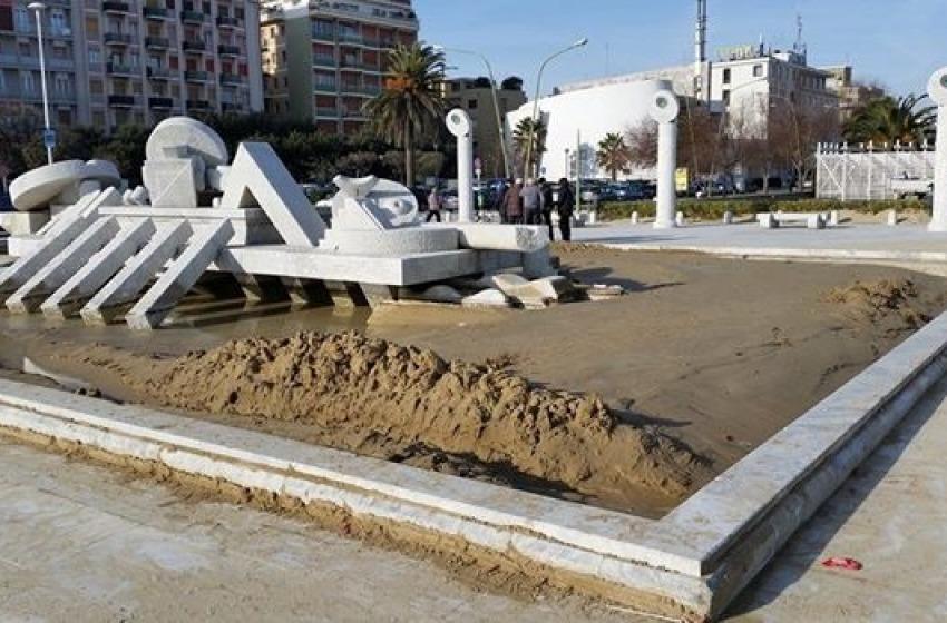 """Dall'emergenza ghiaccio alla """"noia"""" della sabbia: non c'è pace per Pescara"""