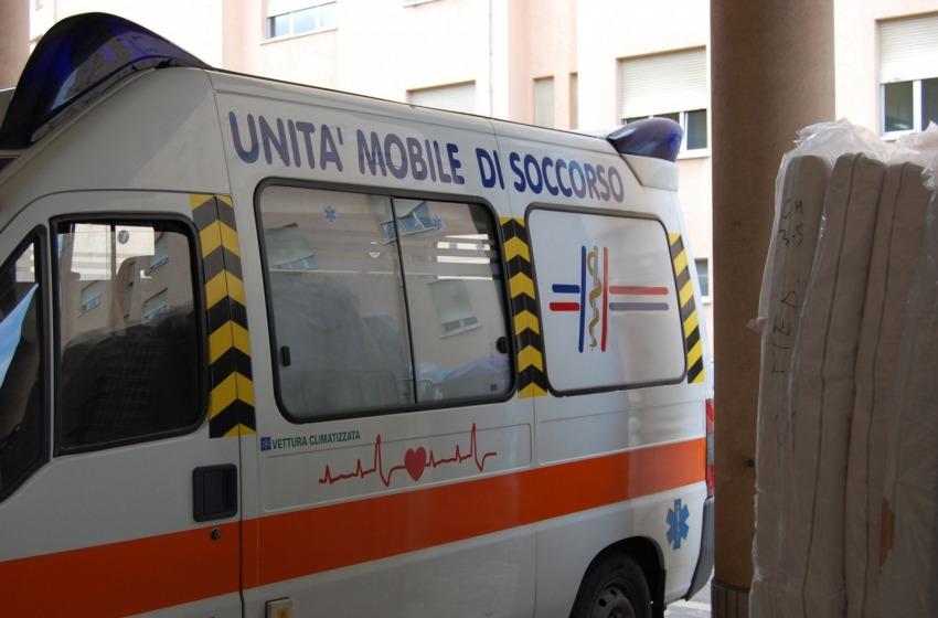 Servizio ambulanza col trucco