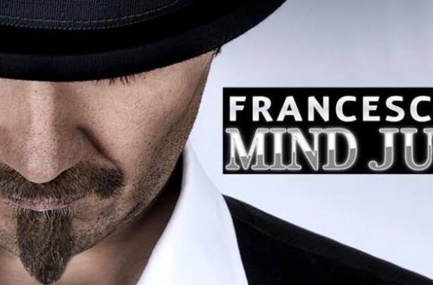 Francesco Tesei in 'Mind Juggler' a Pescara il 20 marzo