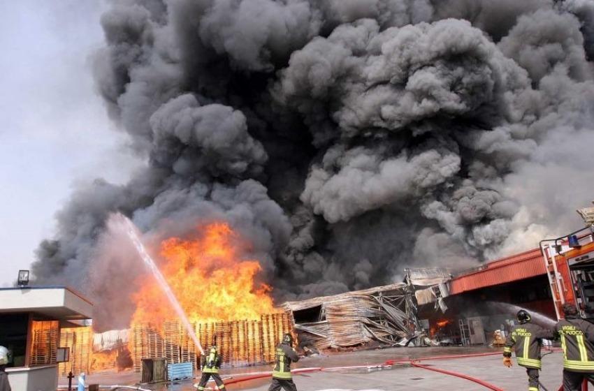 Esplosione in una polveriera, grave un operaio di Vasto