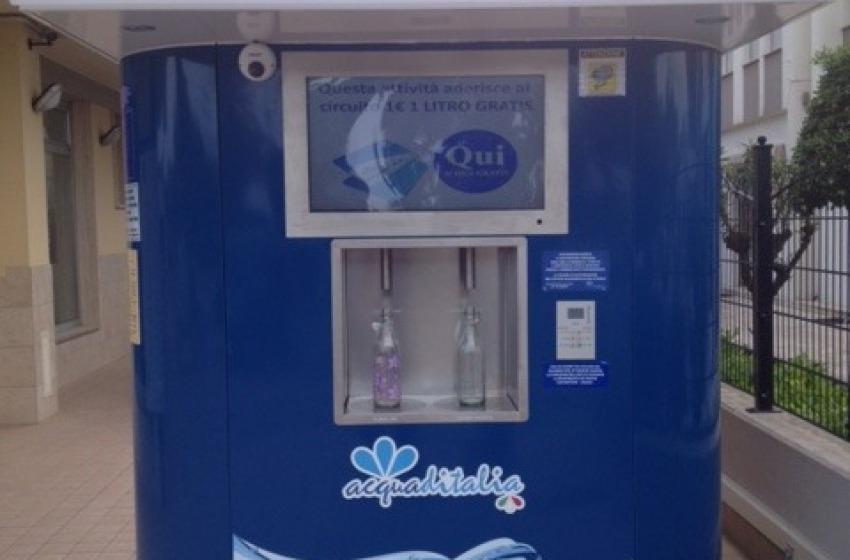 Roseto: ecco le prime case d'acqua. Un litro costerà 0,045 euro