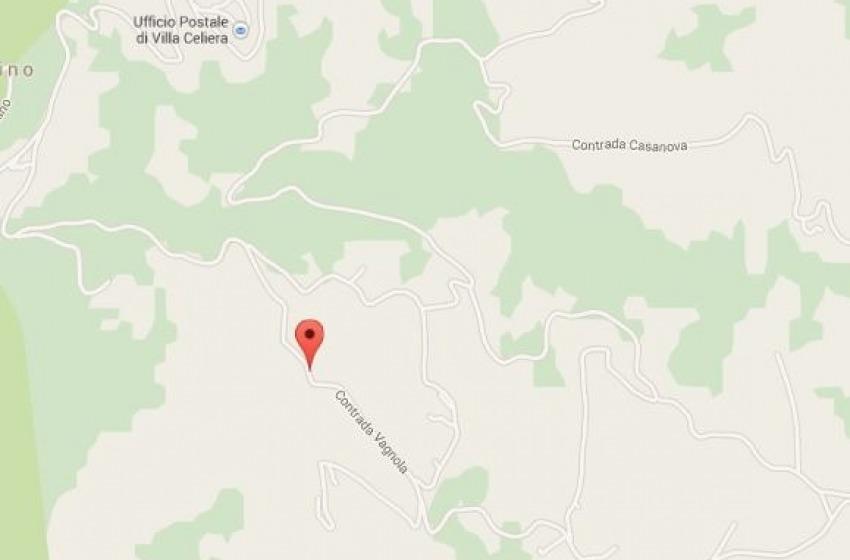 Frana la terra a Villa Celiera: paura per 16 persone. Abitazioni danneggiate