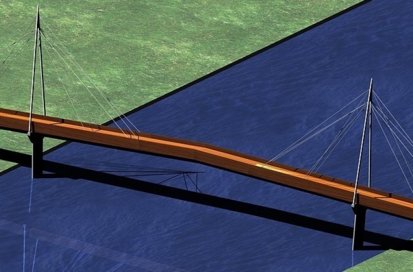 Piste ciclabili. Approvato il progetto del ponte ciclopedonale sul Vomano