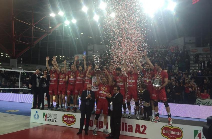 Volley: la Tonno Callippo (Vibo Valentia) vince la Del Monte Coppa Italia