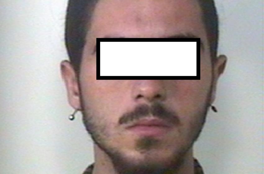 """San Donato: 23enne """"pizzicato"""" ancora con un paio d'etti di """"fumo"""""""