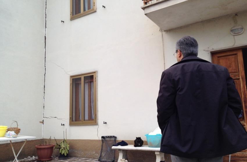 Frana a Villa Celiera, consiglio comunale straordinario