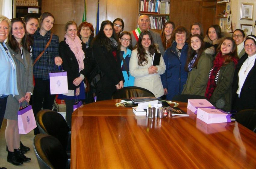Studentesse americane in visita a Chieti