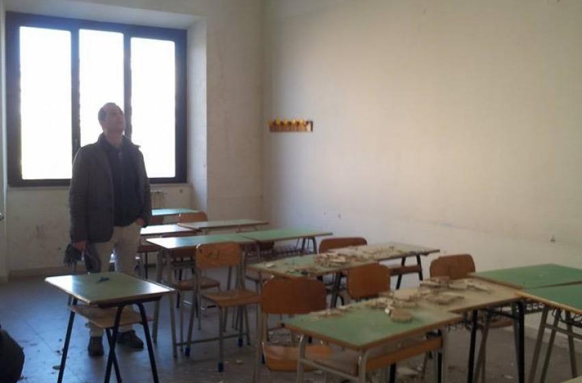 """Alberghiero """"De Cecco"""": l'istituto riapre domattina (solo palazzina B)"""