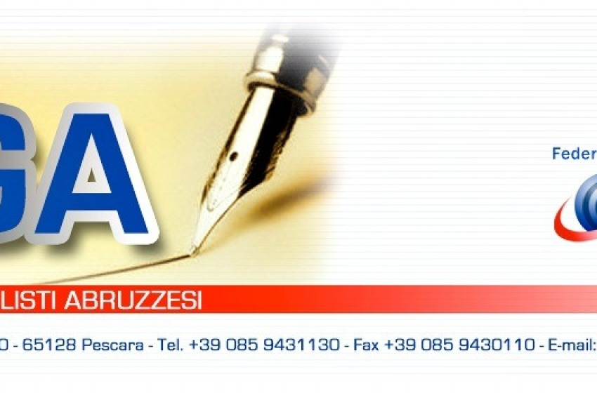 FNSI. Eletti tre rappresentanti del Sindacato Giornalisti Abruzzesi