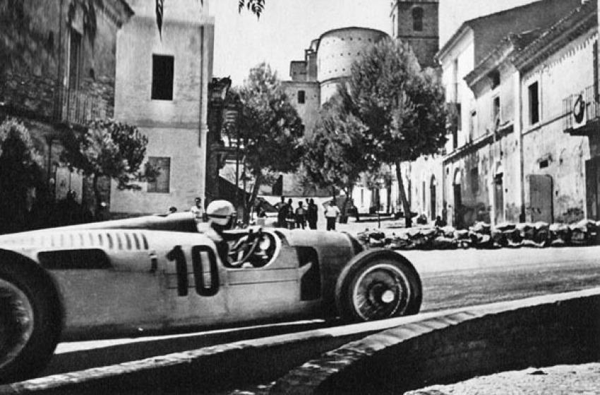 Le ultime gare automobilistiche: le Mille Miglia e Coppa Acerbo