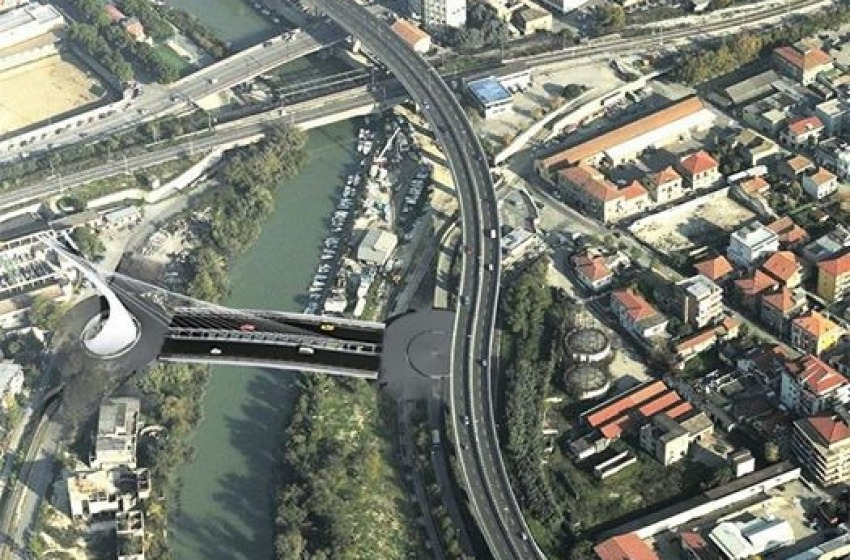 Pescara, si posa la prima pietra del Ponte (Nuovo) della discordia