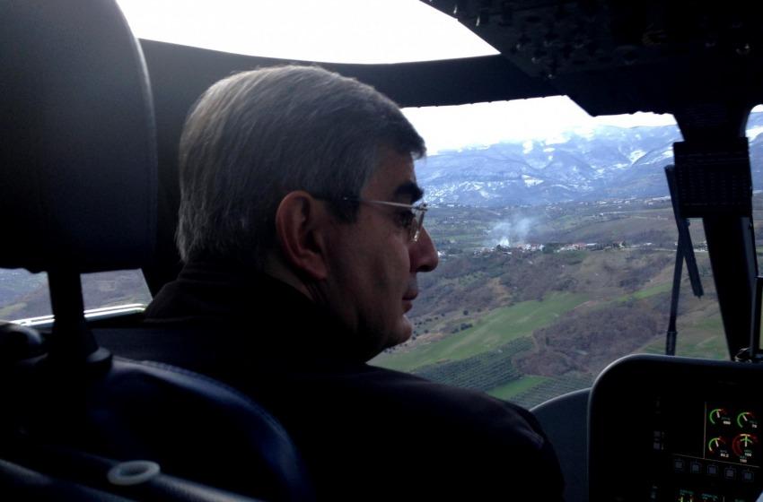 """A Luciano piace volare in Elicottero e gli """"equilibri avanzati"""""""