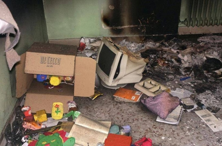 Vandali in azione nell'asilo comunale di via Ravizza. Di Primio scrive al Prefetto