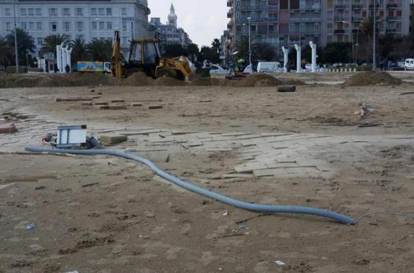 Pescara, Stadio del Mare distrutto dalle mareggiate