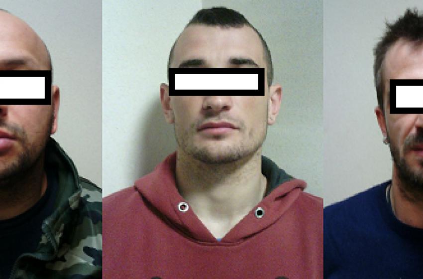 Ladri scatenati nella zona industriale di Chieti Scalo: tre arresti