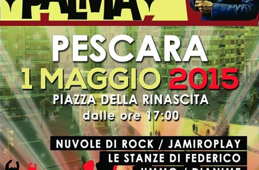 Pescara, primo maggio con Giuliano Palma a Piazza Salotto